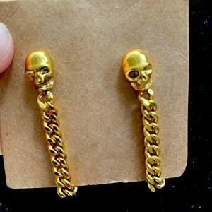 Alexander McQueen Chain Earrings